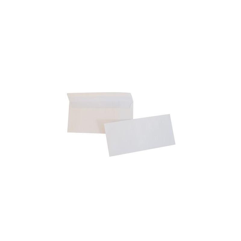 Buste bianche con chiusura gommata senza finestra conf - Buste 11x23 senza finestra ...